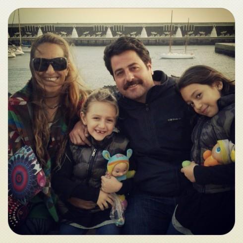 Anita, Marina, Candela y yo